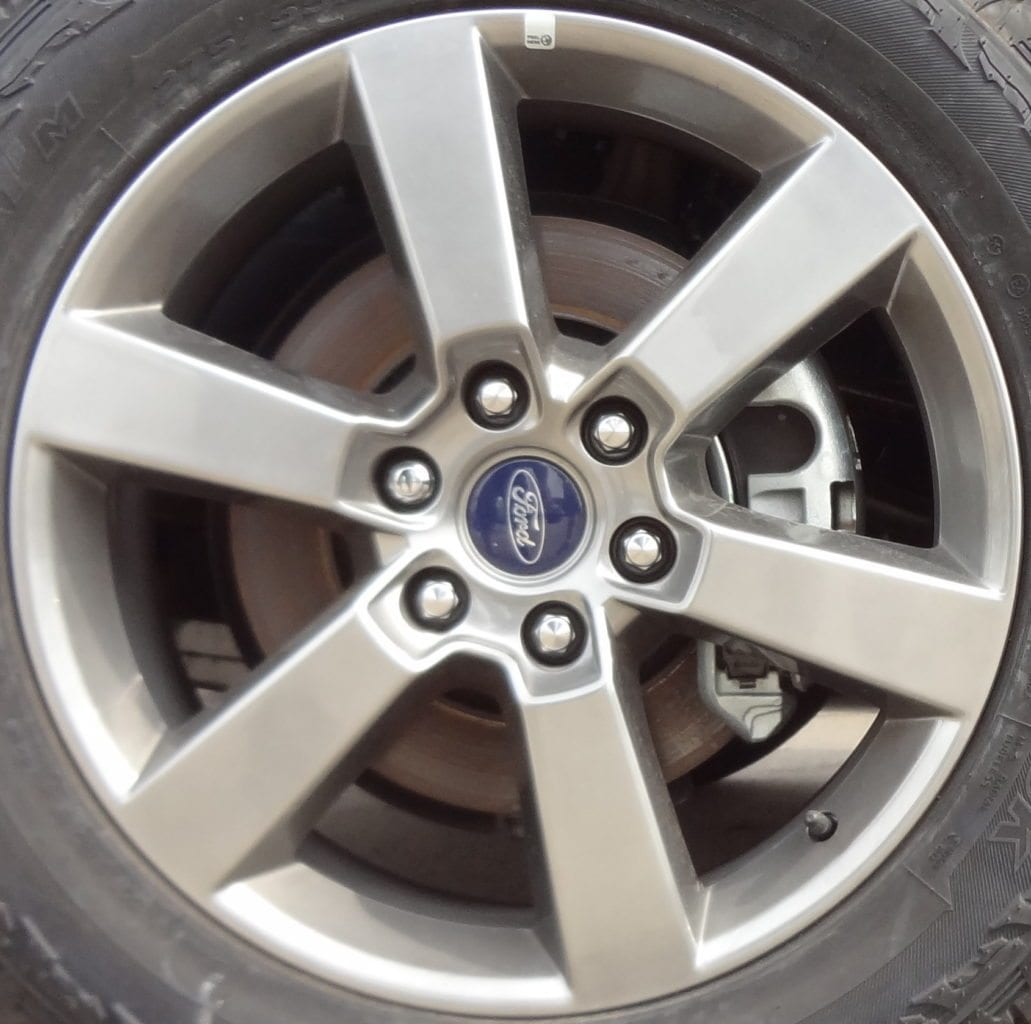 2015 ford f150 20 rim bolt pattern