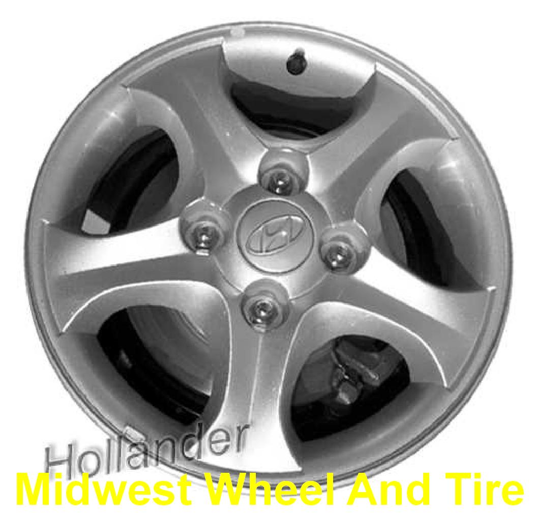 Hyundai 70718S OEM Wheel | 529102d700 | OEM Original Alloy ...