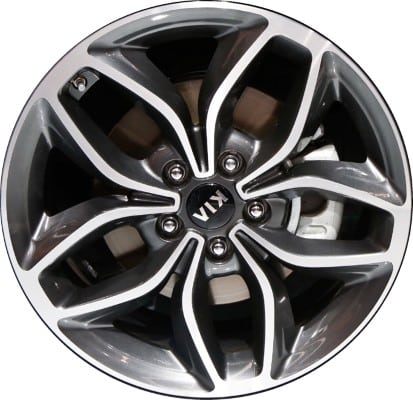 Mazda 3 Wheels >> Kia Forte 2016 OEM Alloy Wheels | Midwest Wheel & Tire